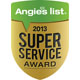 Reviews on Angie's List from satisfied customers giving great reviews