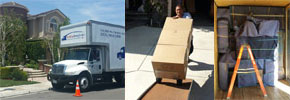 Dove Canyon movers with a professional crew providing full service packers, crating for valuables and unpacking services.