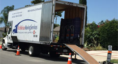 Moving company in Tustin offering local and long diastance moving throughout California.