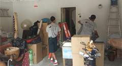 Moving companies in Orange County offering a professional crew for labor services.